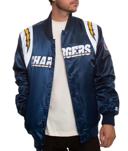 chargers-starter-blue-satin-jacket