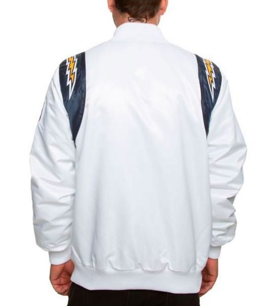 chargers-starter-white-jacket