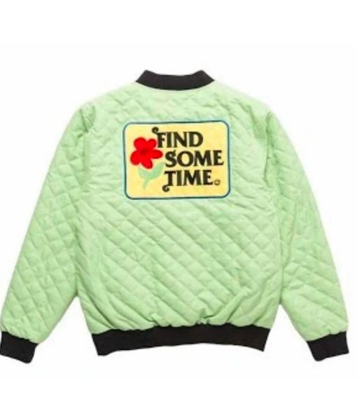 find-some-time-green-jacket