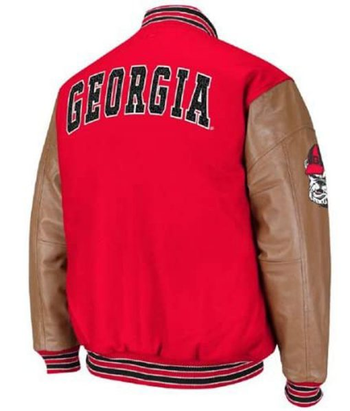 georgia-bulldogs-red-varsity-jacket