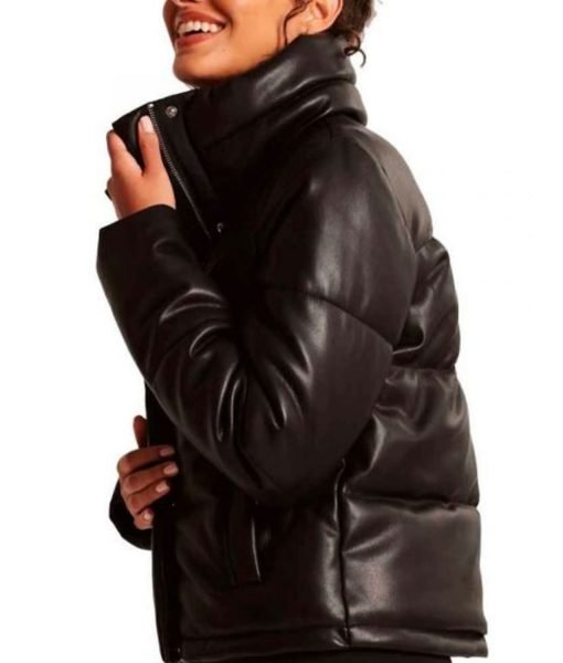 leah-lewis-puffer-leather-jacket