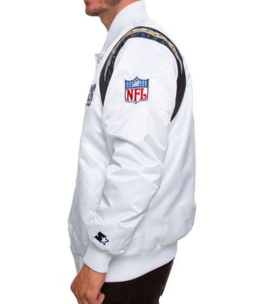 los-angeles-chargers-white-satin-jacket