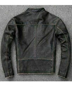 men-biker-faded-black-leather-jacket