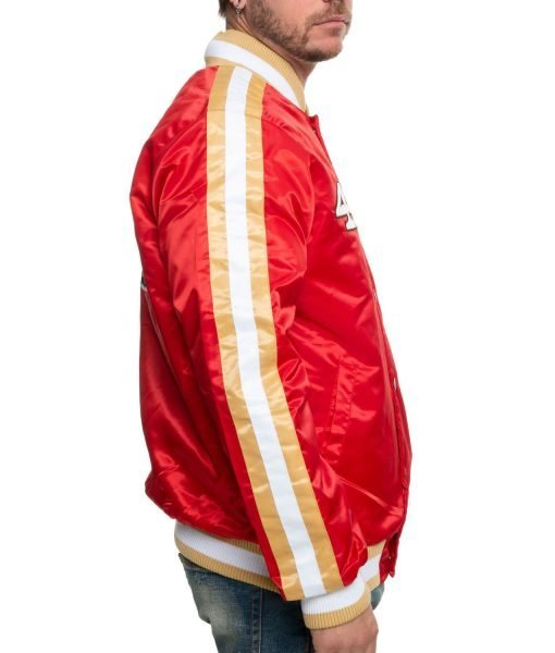 49ers-red-satin-jacket