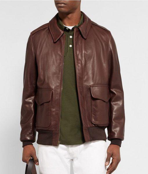 a2-brown-grain-bomber-jacket