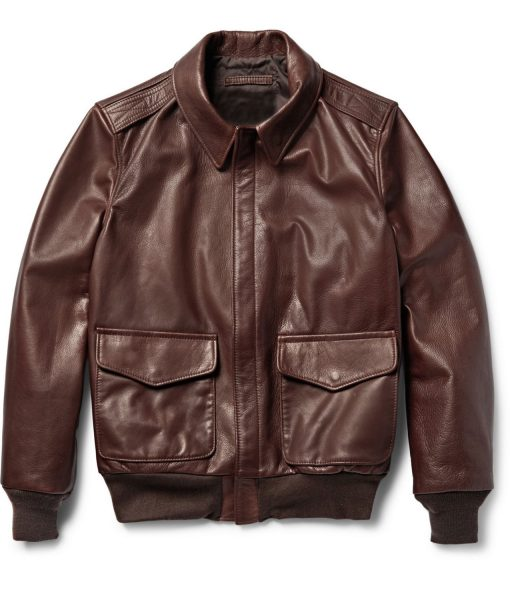 a2-brown-grain-leather-jacket