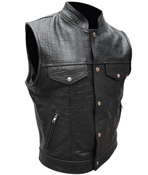 alligator-leather-vest