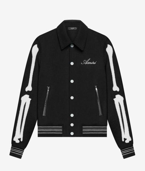 bones-black-varsity-jacket