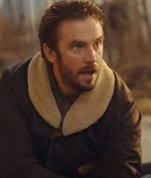 dan-stevens-brown-leather-jacket