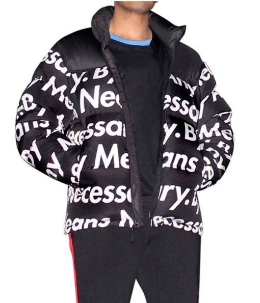 goku-drip-puffer-jacket