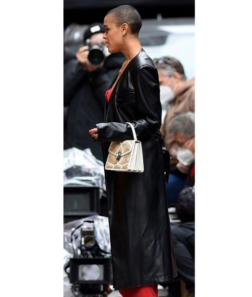 gossip-girl-black-leather-coat