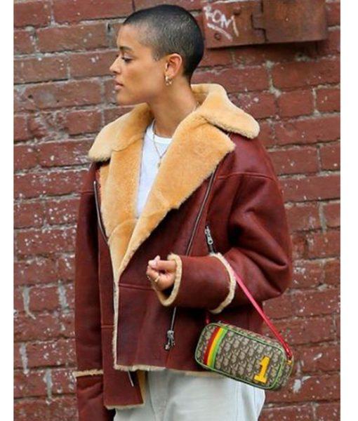 gossip-girl-jordan-alexander-shearling-leather-jacket