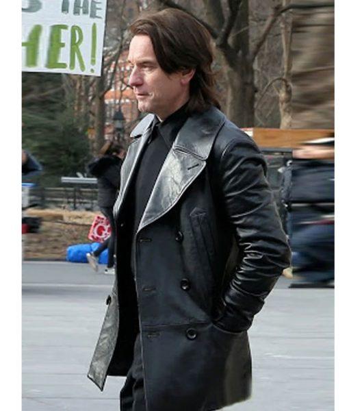halston-black-leather-coat
