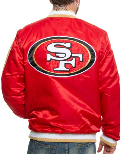 san-francisco-49ers-red-satin-jacket