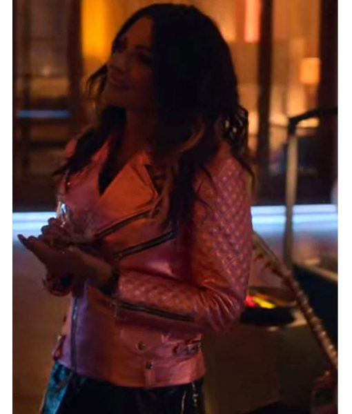 sarah-shahi-leather-jacket