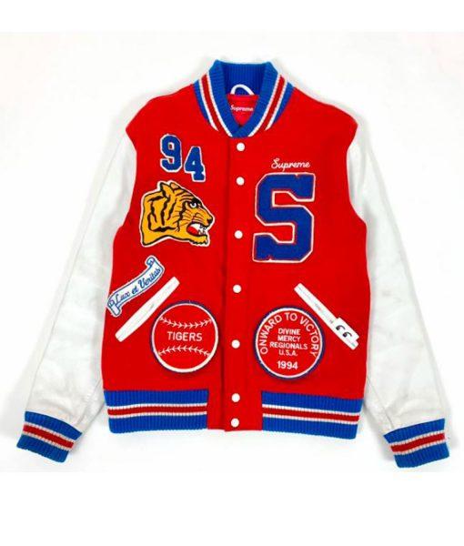 supreme-tiger-varsity-jacket
