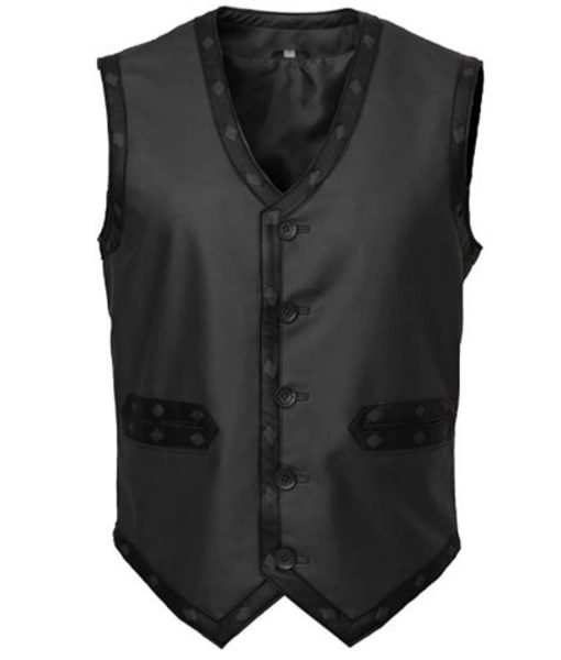the-warriors-black-leather-vest