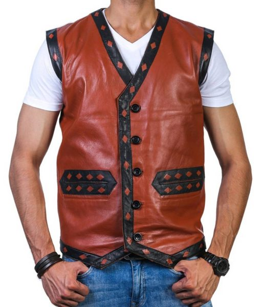 the-warriors-brown-leather-vest