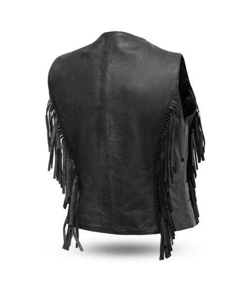 womens-fringe-motorcycle-leather-vest