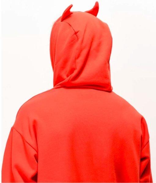 goodie-horn-red-pullover-hoodie