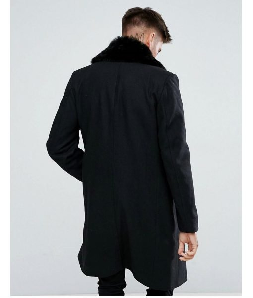 mens-double-breasted-wool-overcoat-with-faux-fur-trim-in-black